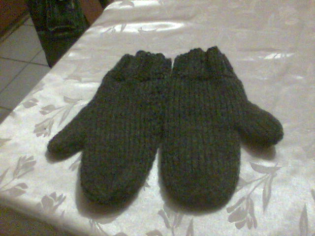 tuto tricot moufle homme