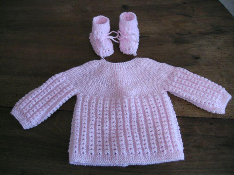 tuto tricot naissance