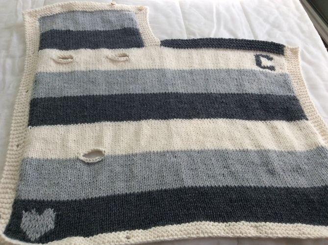 tuto tricot nid d'ange pour siege auto