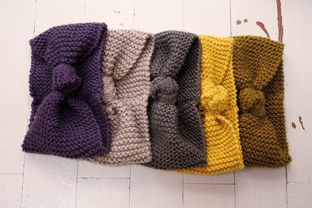tuto tricot noeud en laine