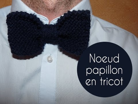 tuto tricot noeud