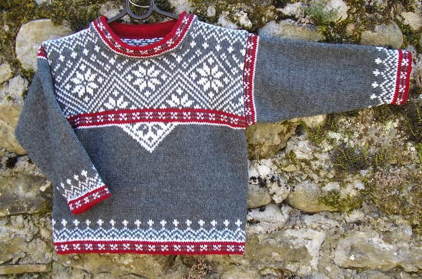 tuto tricot norvegien