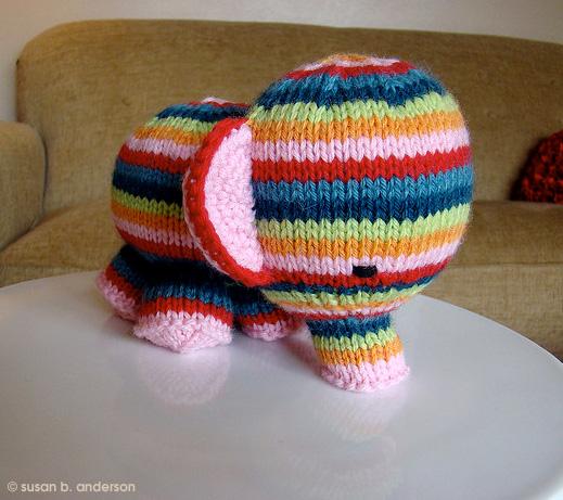 tuto tricot nounours