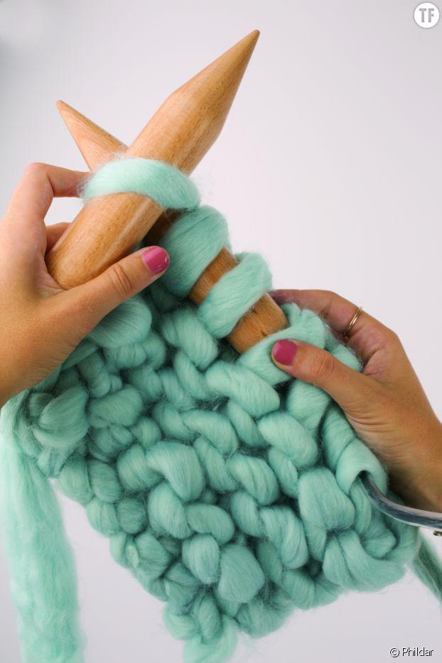 tuto tricot plaid xxl