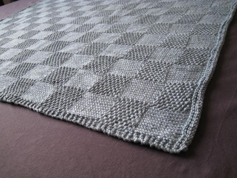 tuto tricot plaid