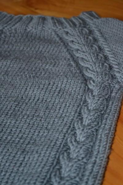 tuto tricot poche kangourou