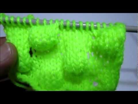 tuto tricot point boule