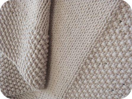 tuto tricot point de riz