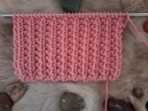 tuto tricot point de sable