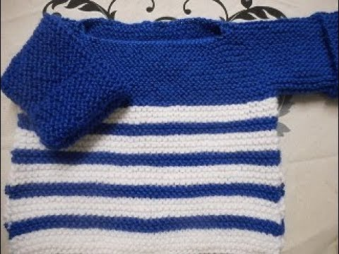 tuto tricot point mousse