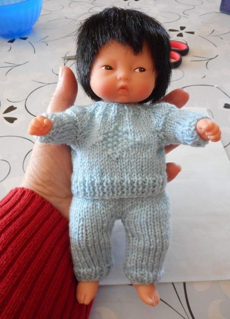 tuto tricot poupon 20 cm