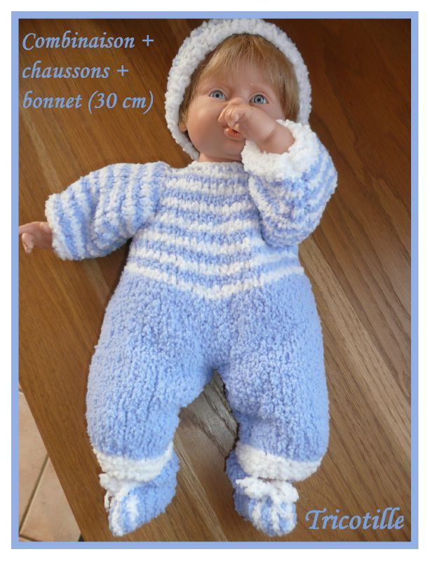 tuto tricot poupon 30 cm gratuit
