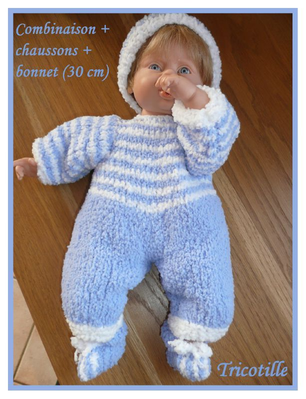 tuto tricot poupon 40 cm