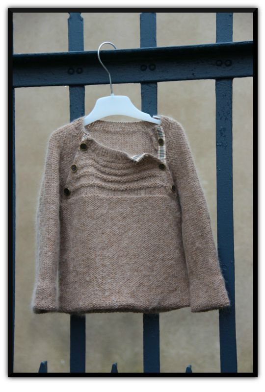 tuto tricot pull 5 ans