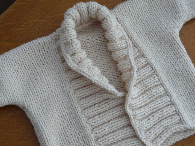 tuto tricot pull 6 mois
