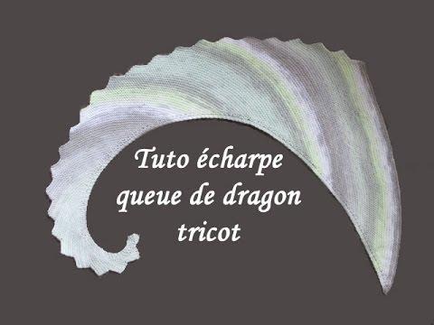 tuto tricot queue de dragon