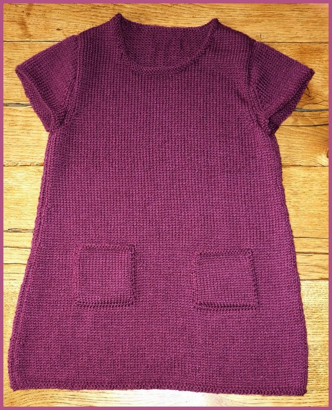 tuto tricot robe fille 3 ans