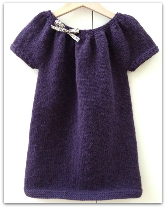 tuto tricot robe fille 6 ans