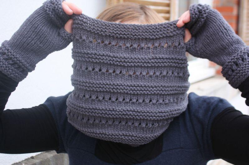 tuto tricot snood aiguille 5