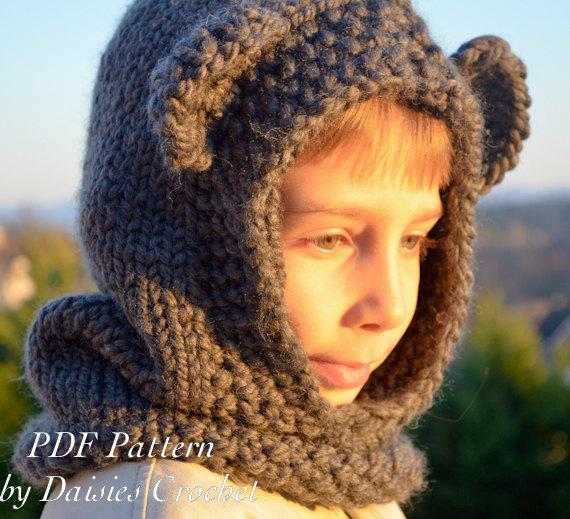 tuto tricot snood capuche