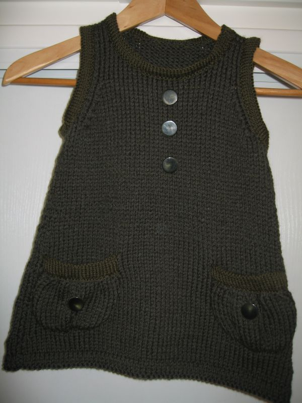 tuto tricot tunique fille