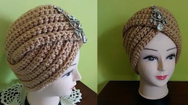 tuto tricot turban