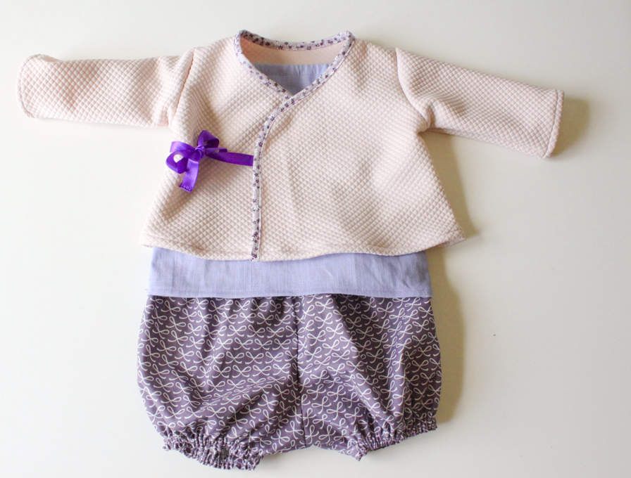 tuto couture bebe 1 mois