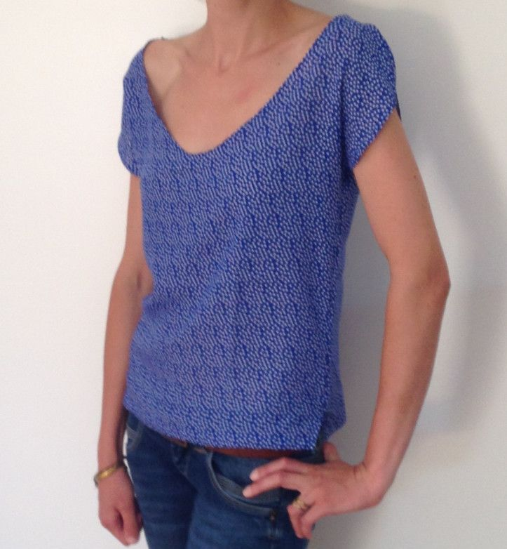 tuto couture blouse femme