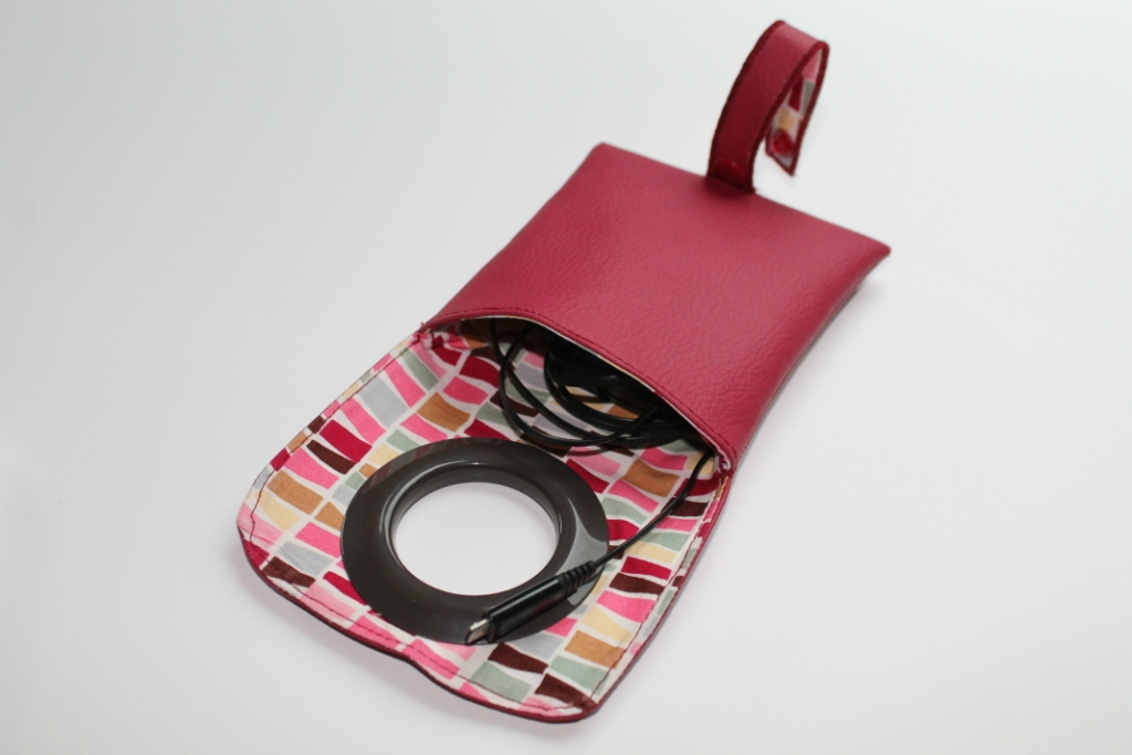tuto couture etui chargeur portable