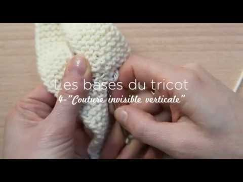 tuto couture invisible point mousse