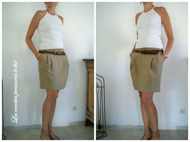 tuto couture jupe femme