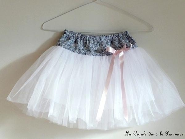tuto couture jupe tulle