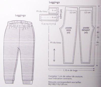 tuto couture legging