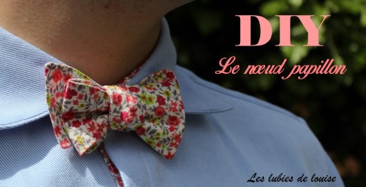 tuto couture noeud papillon homme