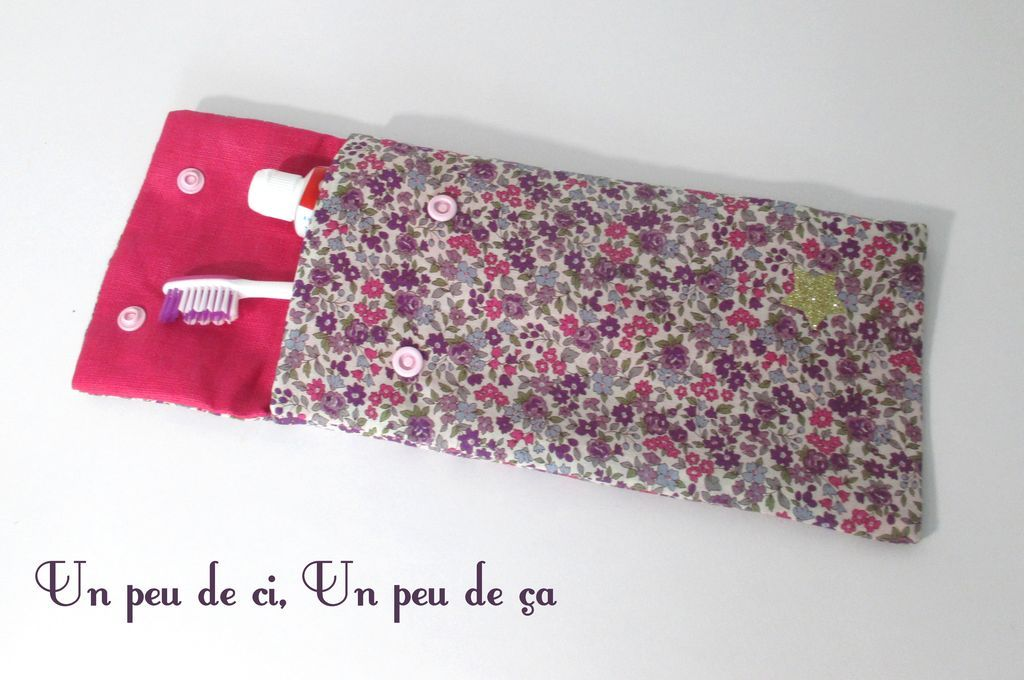 tuto couture range brosse a dent