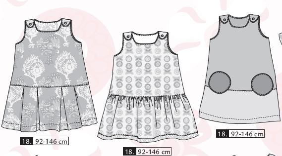 tuto couture robe fille 2 ans