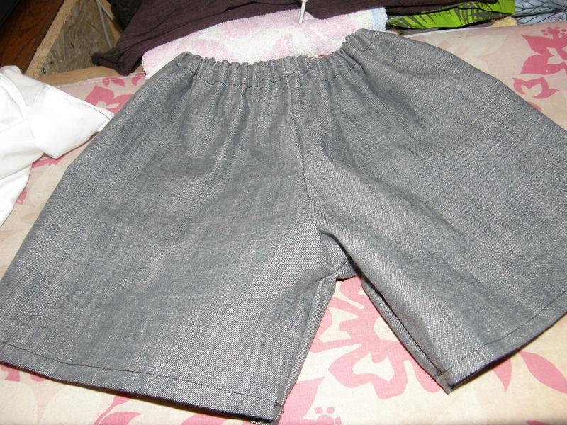 tuto couture short 18 mois