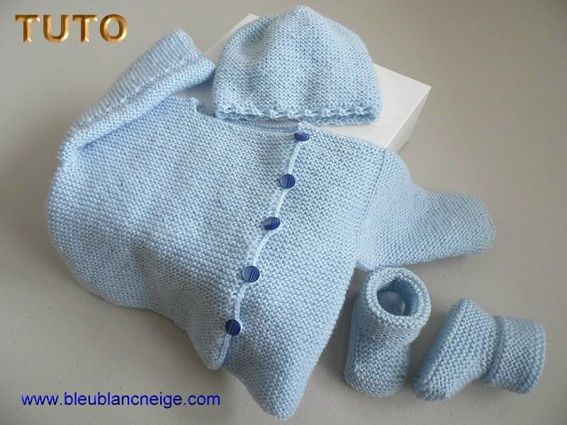 tuto tricot 1 mois