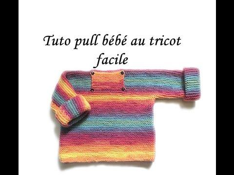 tuto tricot bebe facile