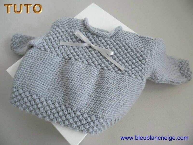 tuto tricot bebe fille