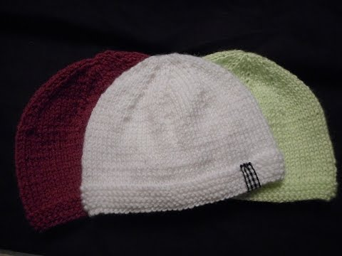 tuto tricot bonnet naissance - Tutoriel couture et tricot