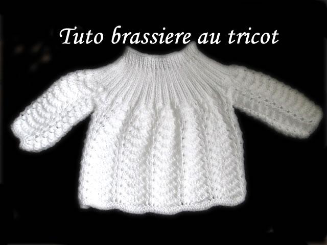 tuto tricot brassiere