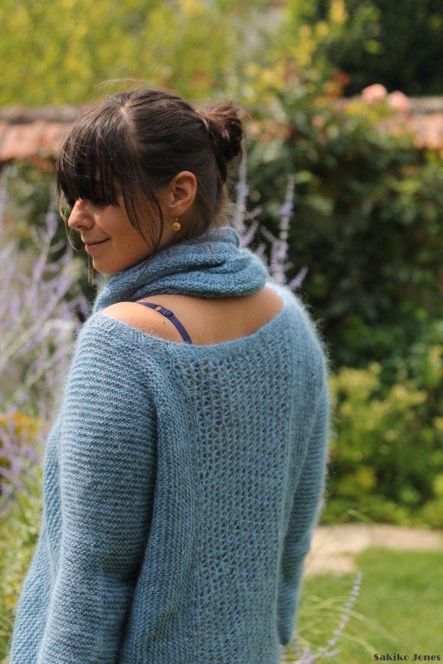 tuto tricot col bateau - Tutoriel couture et tricot