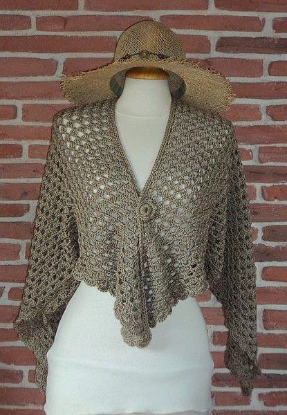 tuto tricot dentelle facile