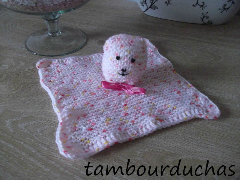 tuto tricot doudou facile