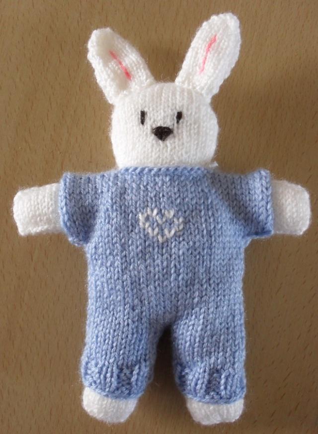 tuto tricot doudou facile - Tutoriel couture et tricot