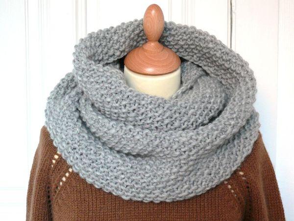 tuto tricot echarpe point de riz - Tutoriel couture et tricot