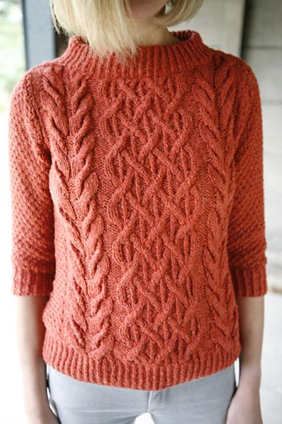 tuto tricot irlandais femme