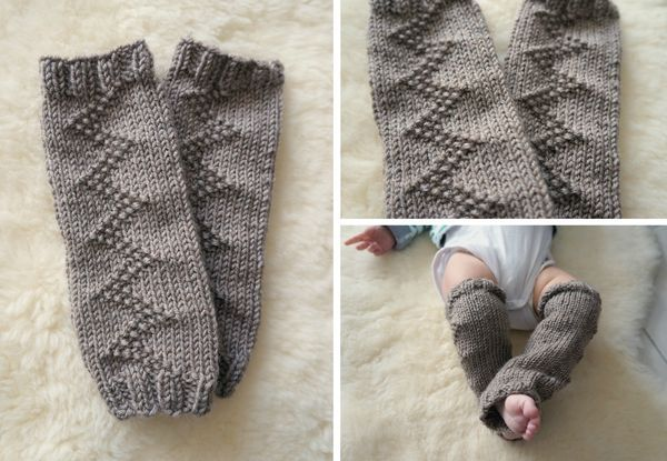 tuto tricot jambiere bebe
