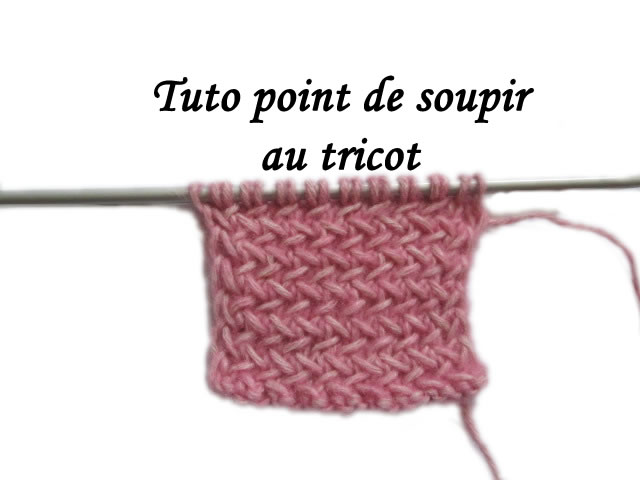 tuto tricot jersey endroit
